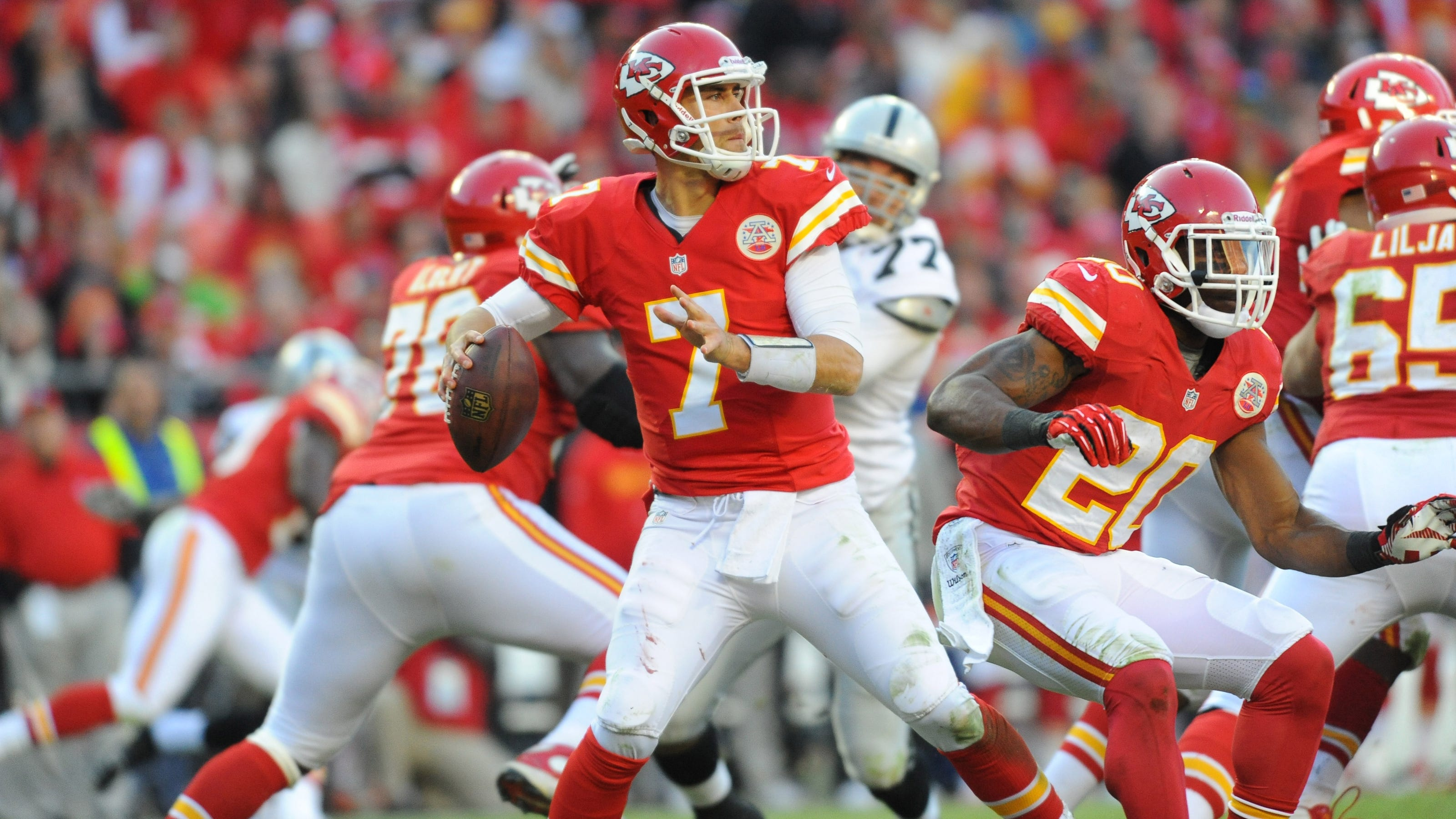 Matt Cassel To Start At Qb For Chiefs Vs Chargers