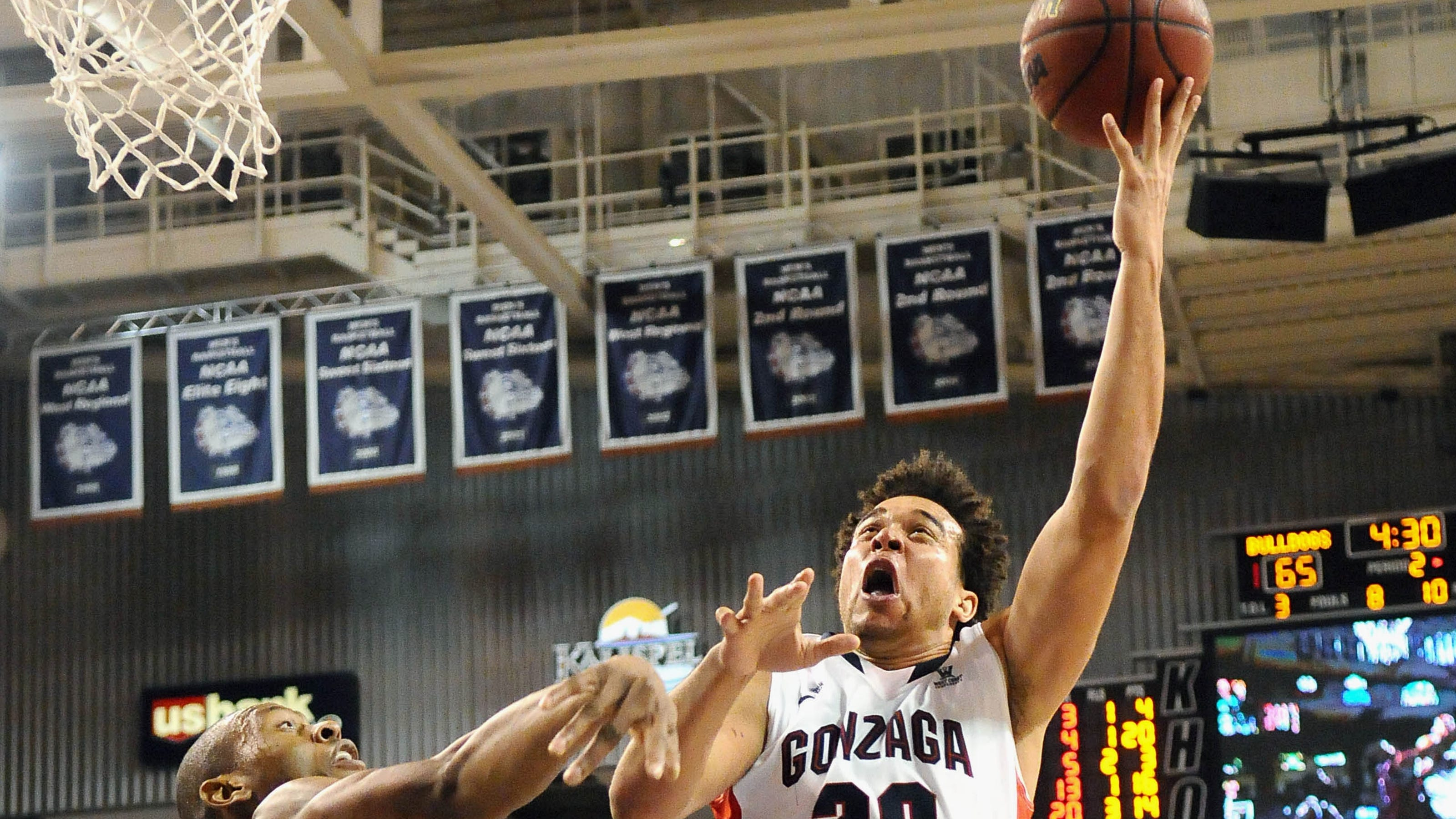 Likely new No. 1 Gonzaga facing a seeding ceiling in NCAA tournament
