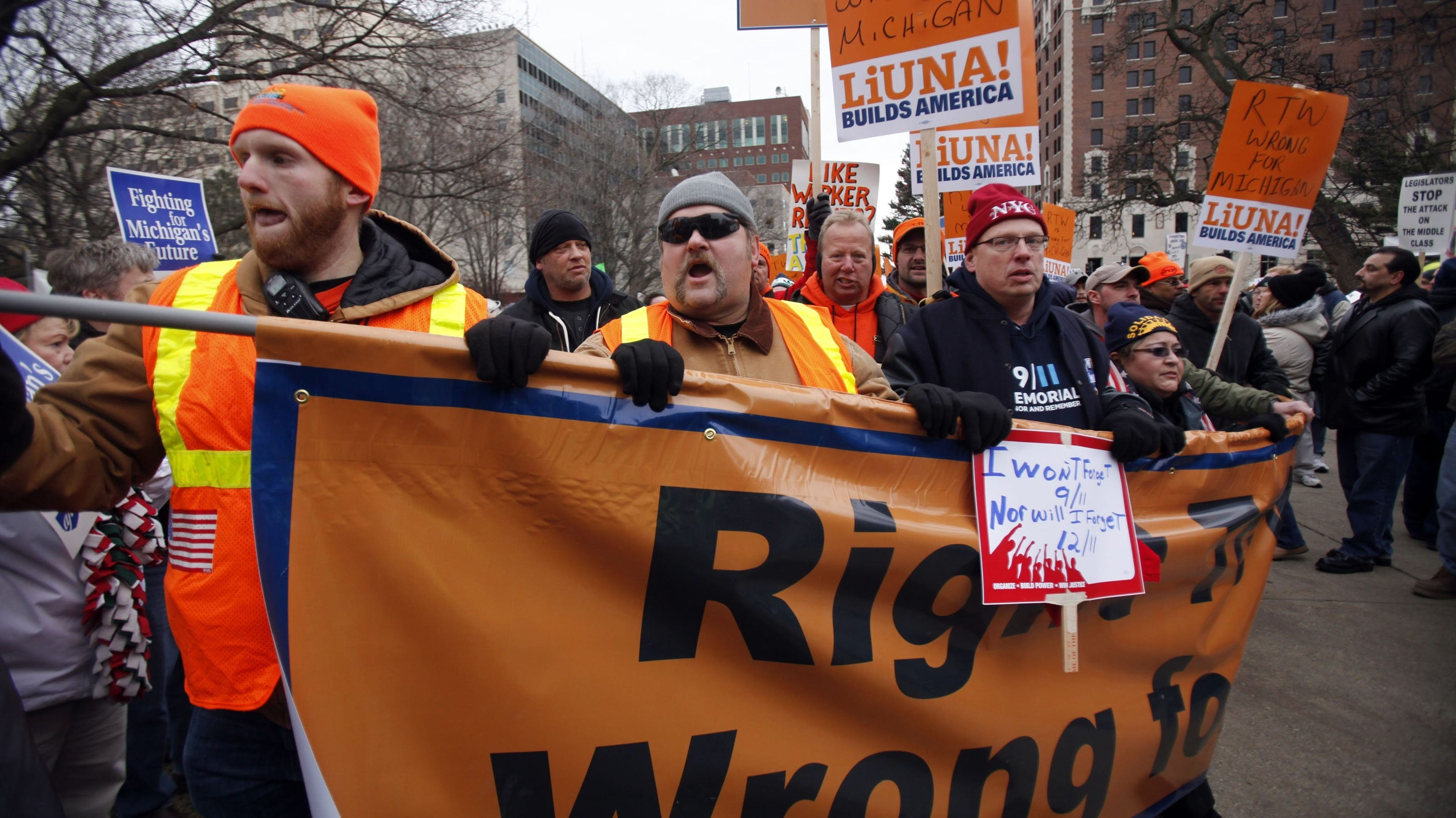 impact of right to work in (ap) — in a story may 18 about a right-to-work referendum, the  that could  impact mccaskill, who will need union support in one of the most.