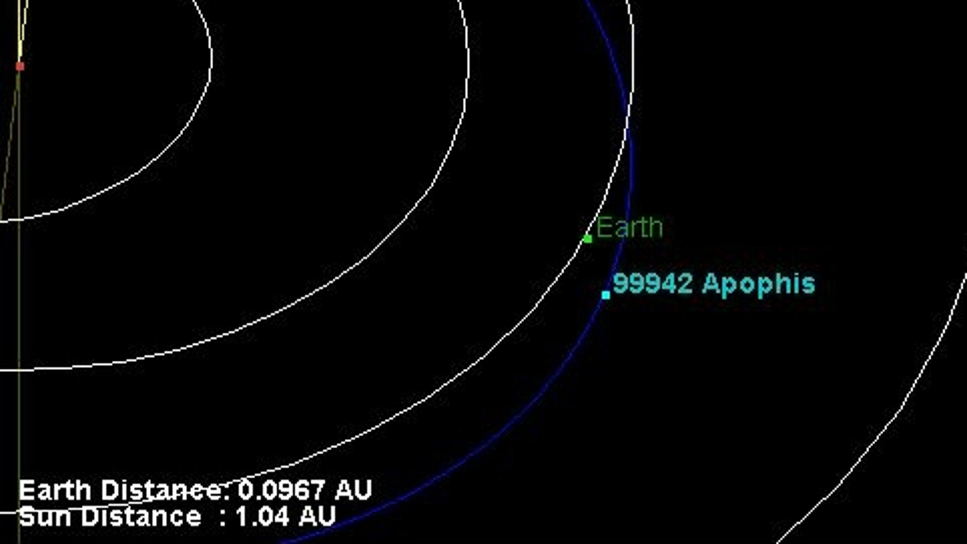 Asteroid Apophis to pass near Earth on Wednesday