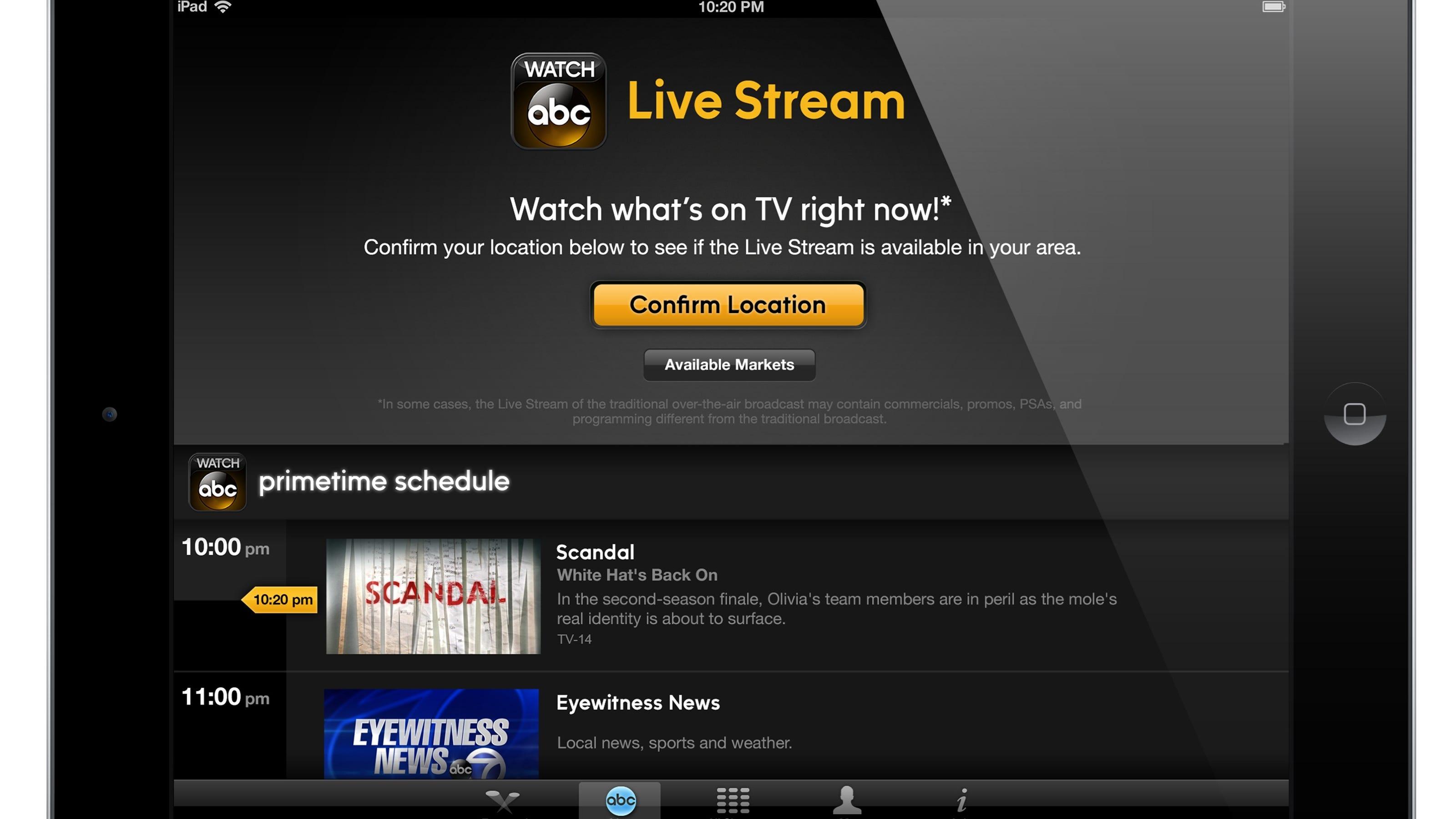 Em Live Stream App
