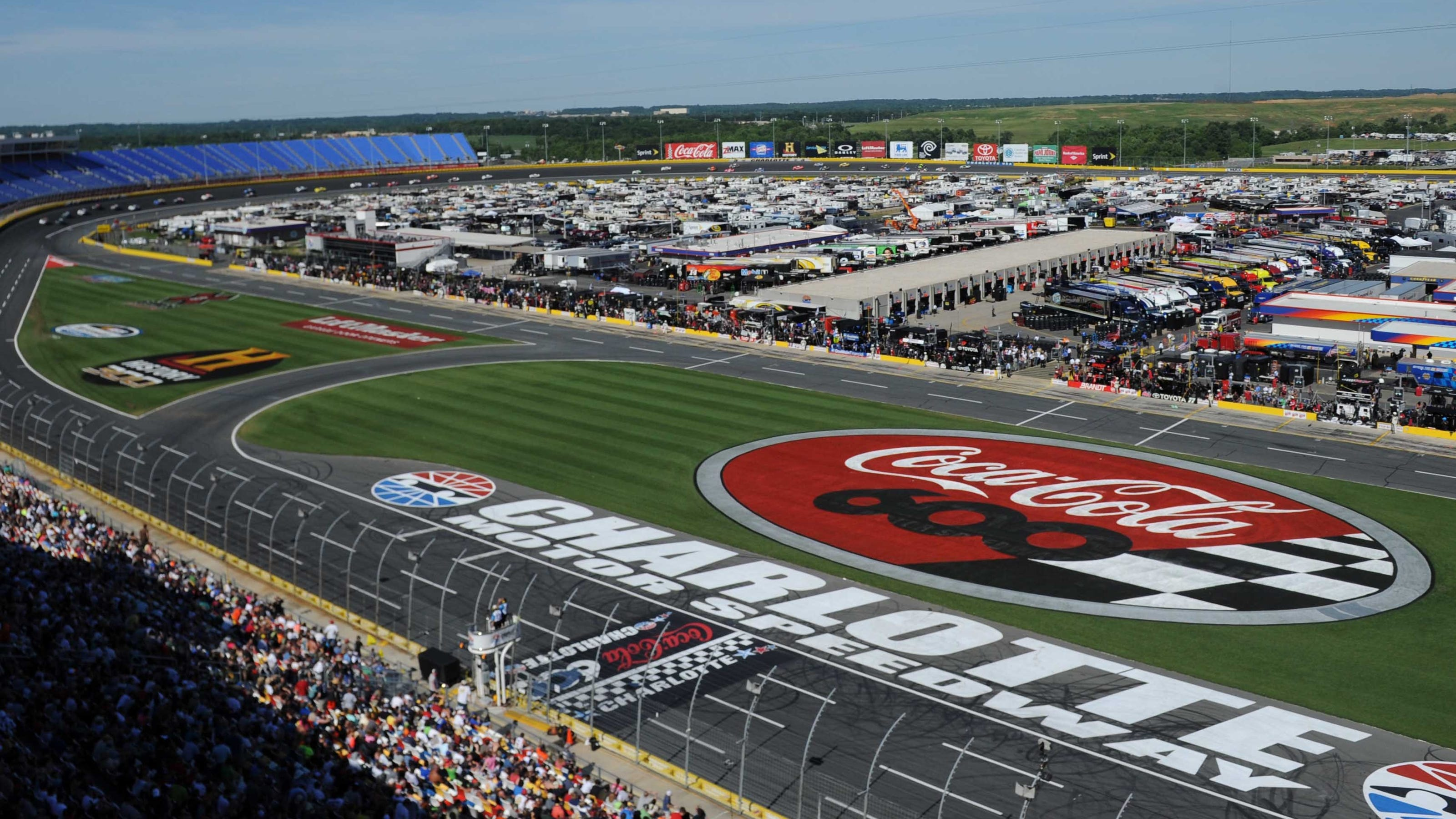 Nascar coke 600 start time lineup tv schedule for Charlotte motor speedway zip code