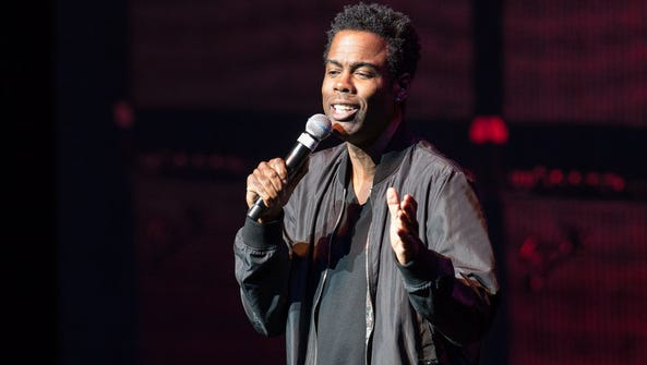 "Chris Rock brought his ""Total Blackout"" tour to the"
