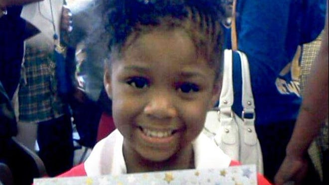 Za'layia Jenkins, 9, was shot by a stray bullet on May 5 while inside her home in the 1500 block of W. Meinecke Ave. A reward for information leading to suspects has risen to $65,000.