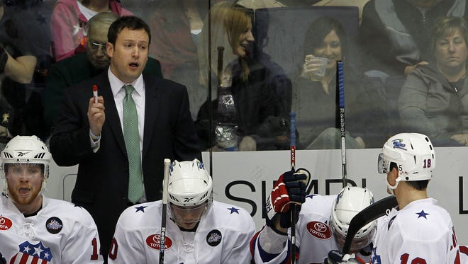Chuck Weber returns to the Amerks as an assistant coach. He was head coach in 2010-11.