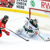 Devils lose their second straight game, 4-2, to the Wild