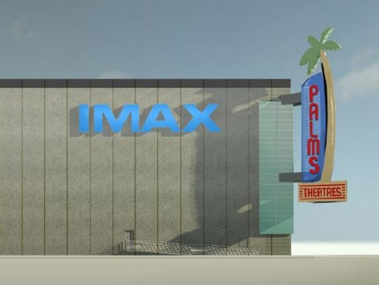 The Palms Theatres in Waukee will have an 85-foot-wide