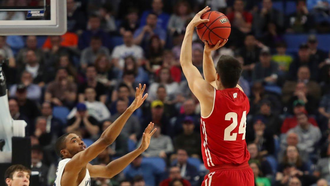 Badgers major in NCAA Tournament rallies