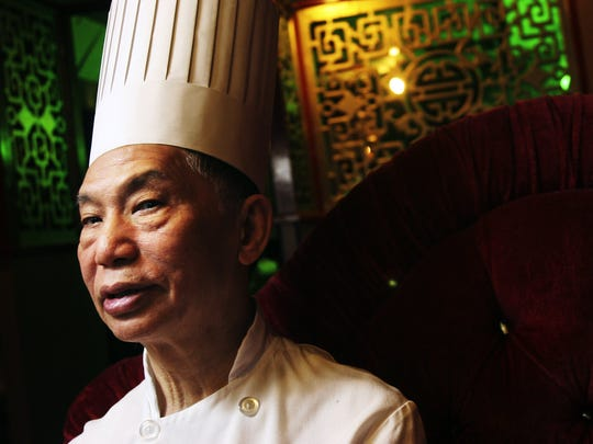 """It's been a lifetime of hard work,"" said Master Chef Kam Sang Kwan, ""but it''s paying off."" Photographed in 2006."