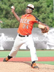 Fern Creek's Noah Allen comes to pitch in relief in