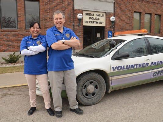 parking volunteers