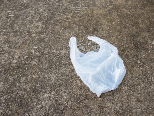 Plastic bags can get stuck in recycling equipment.