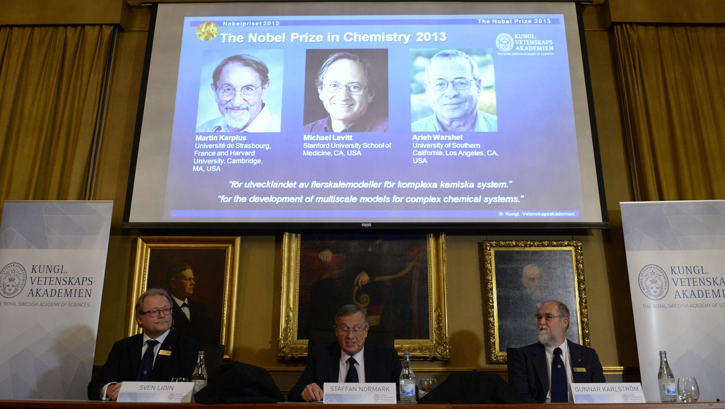 the chemistry nobel prize 2013 essay The nobel prize in chemistry rewards 3 scientists for work leading to complex computer programs used today to display detailed structures of complex molecules.