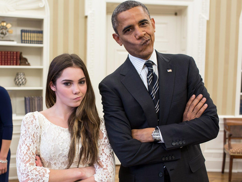 Maroney and Obama