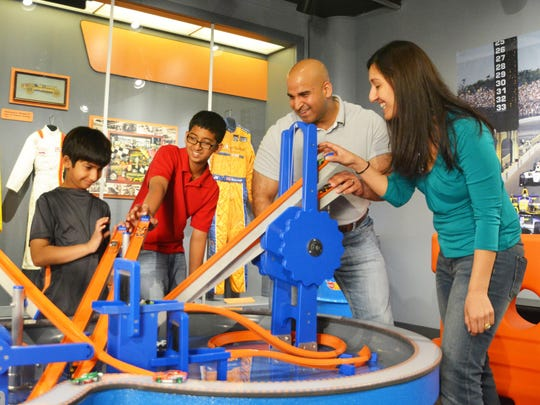 """""""Hot Wheels: Race to Win"""" at the Strong National Museum of Play in Rochester explores the sport of auto racing."""