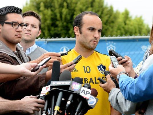 USP MLS_ Los Angeles Galaxy-Practice