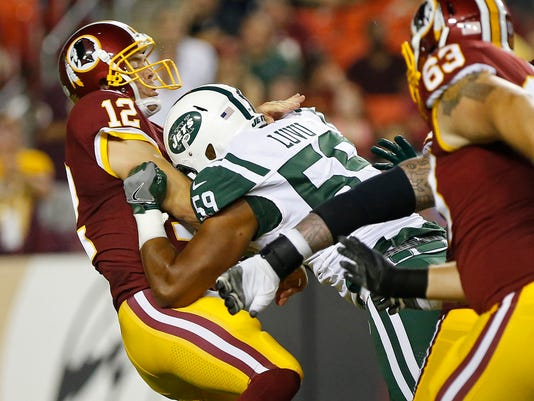 Studs and Duds from Jets' loss vs. Redskins, including Tre McBride