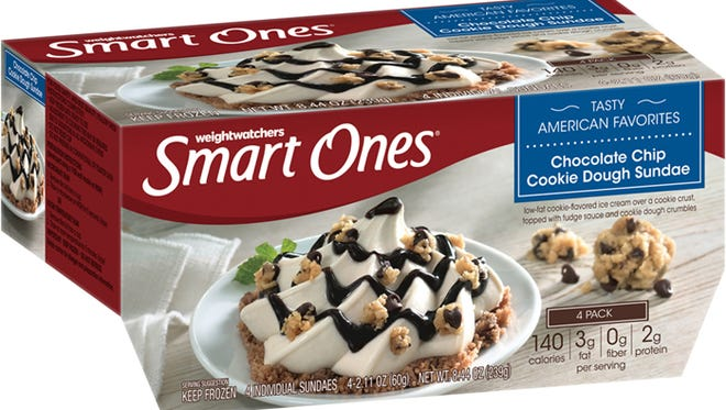 Approximately 100,000 cases of Weight Watchers Smart Ones Chocolate Chip Cookie Dough Sundaes recalled