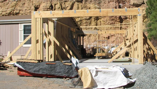 Construction projects come in all sizes from garages to major additions.