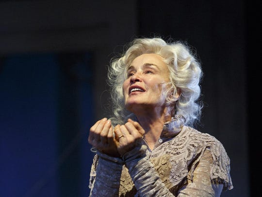 "Jessica Lange in ""Long Days Journey Into Night."""