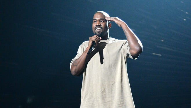 Kanye West declared his political intentions onstage at the 2015 MTV Video Music Awards.