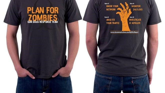 SDN employees will wear these shirts to the Oct. 24 ZombieWalk downtown