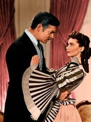 """Gone With The Wind"" starringClark Gable and Vivien"