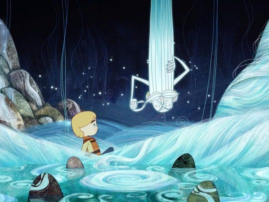 "The animated film ""Song of the Sea,"" a ""Glimmerglass"