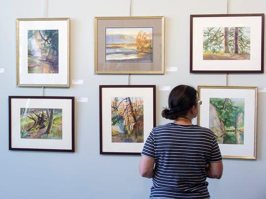 The Hoosier Salon art gallery is in Carmel Art & Design District.