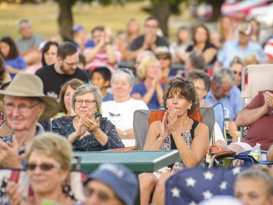 Copper Creek Lake Park was the place to be in Pleasant Hill for Jazz in July July 28. The Max Wellman 7 band was hosted by Metro Arts Alliance to an over-flow crowd.