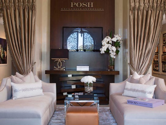 Interior of POSH Interiors corporate offices, Lafayette,