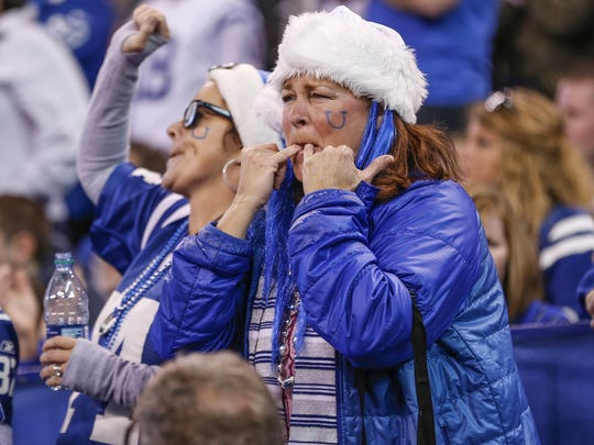 The Colts are just 3-4 at home this season.