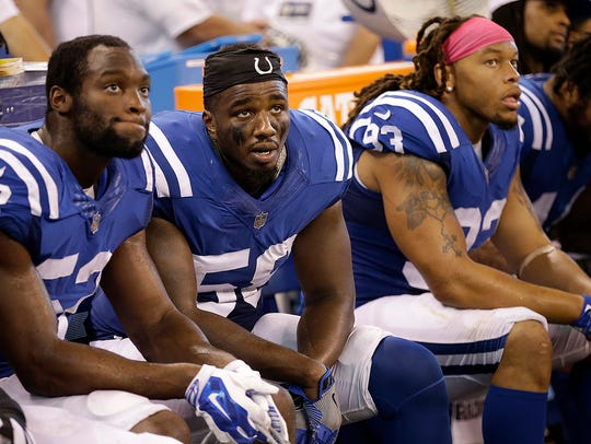 The Colts' rebuilt defense hasn't been consistent all season, and has been gashed by the likes of Jared Goff, Brian Hoyer and Blake Bortles so far.