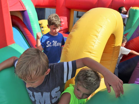 St. Mary's School of Jackson held a Back to School