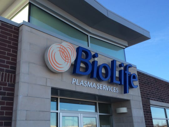 BioLife plans to open a new plasma donation center on Plymouth Road in Livonia later this year.