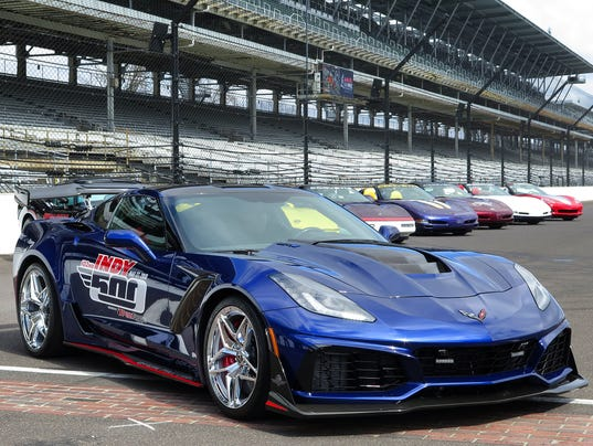 2018 Indianapolis 500 pace car revealed