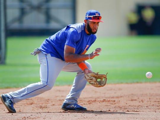 Mets shortstop Amed Rosario