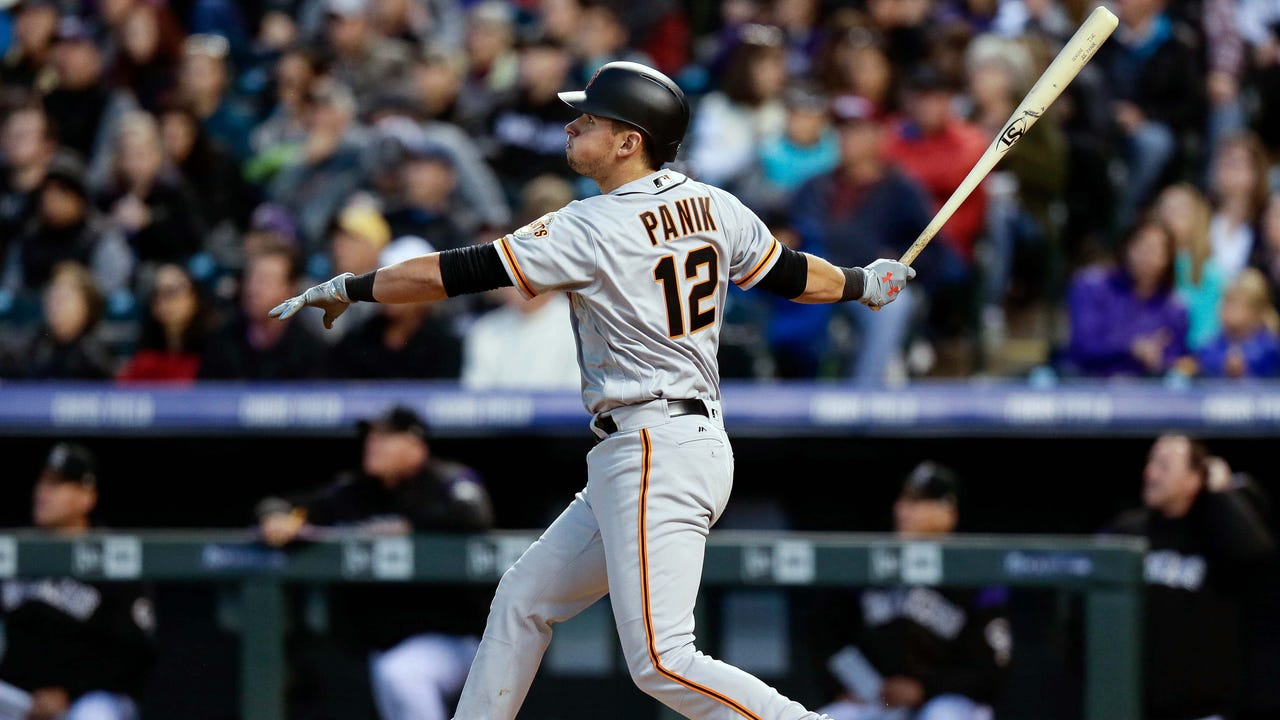c5f57460 Joe Panik on homecoming, marriage and yardwork with dad
