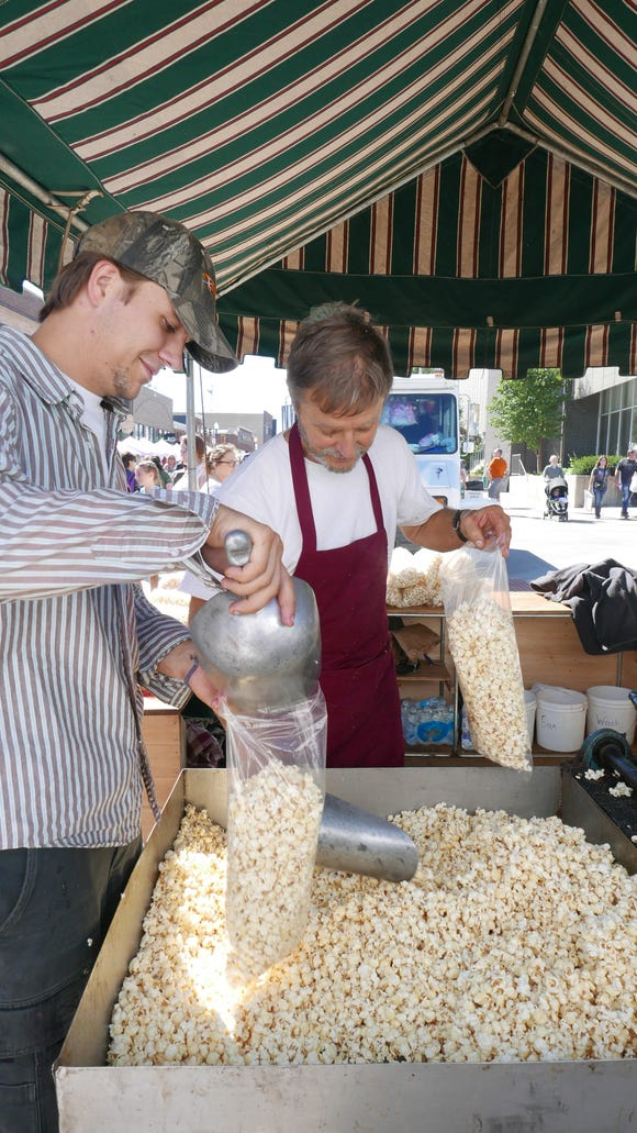 A variety of food vendors will be set up at the Sidewalk Arts Festival.