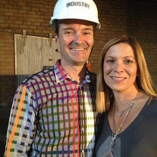 Jason and Ellen Winkler, of Industry helped develop co-working space Industry Denver at 3001 Brighton Blvd., and are now working on a new health-technology ecosystem called Stride.