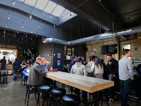With skylights and an open concept tap room, Eagle