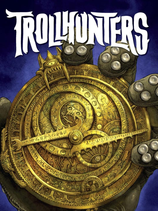 Read An Excerpt From Trollhunters