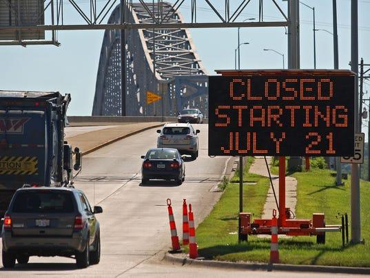 Your Say 0721 AP Bridge Closure Dubuque