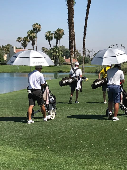 AJGA face the heat in the desert
