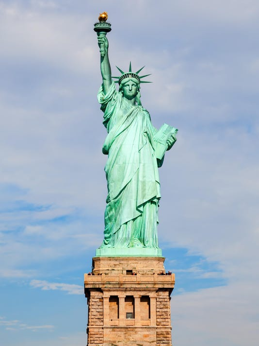 Liberty Statue in NYC