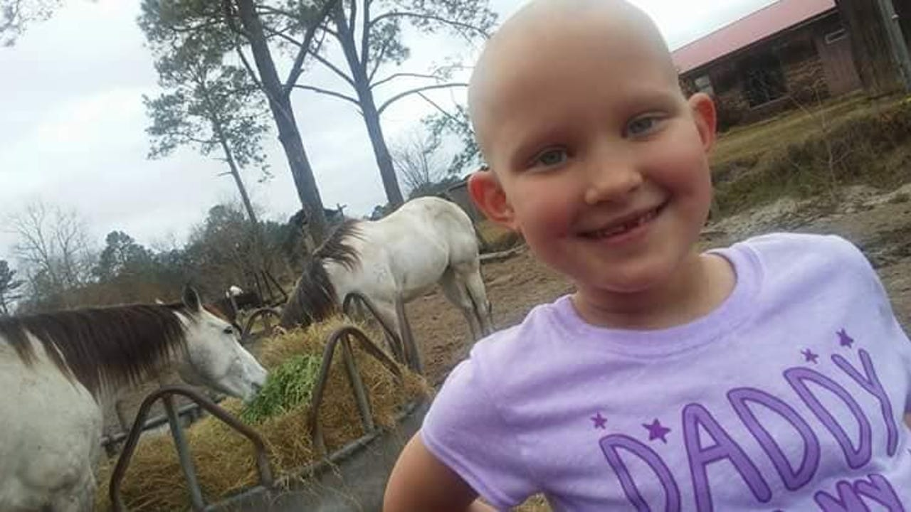 """For Addison Johnson, cancer is a """"normal"""" part of her life. And she never lets it get her down."""