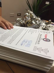 Nearly 600 pages of documents related to Bill 326-33,