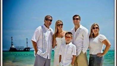 From left: Sean Copeland, Maegan Copeland, Brodie Copeland, Austin Copeland, Kim Copeland