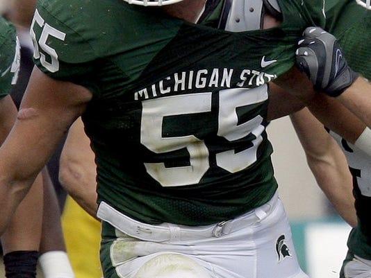 Iowa-MSU Football Michigan State University