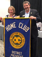 Kim Prado will lead Florida District Exchange Clubs